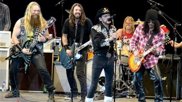Lemmy Kilmister y amigos