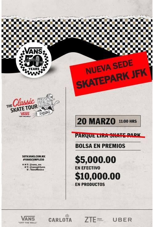 the classic skate tour vans