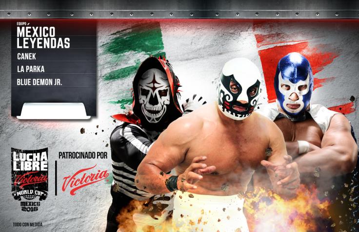 MEXICO-LEYENDAS  world cup