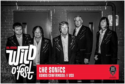 The Sonics - Wild o`Fest